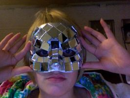 Mask From Lady Gaga Poker Face by monkeeem