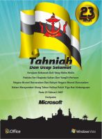 Microsoft Brunei Newspaper Ad by Illo-J85