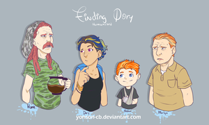 Finding dory humanized by yonson-cb