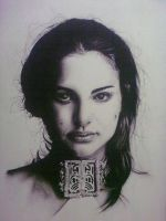 Natalie Portman by lycanmellow