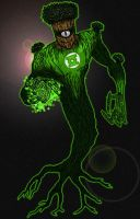 Green Lantern: Medphyll by north-green