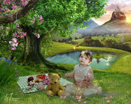 Teddy bears picnic by irenejones-art