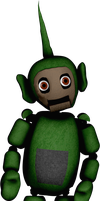 Un Withered Dipsy by DecimatedMickey