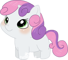 Littlest Sweetie Belle by Puffleduck