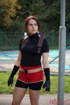 Claire Redfield RE2 cosplay III by Rejiclad