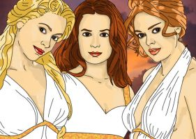 Charmed ones as goddesses by cvlx