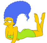 marge simpson by crisrocker95