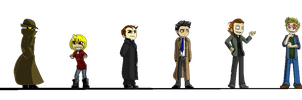 Supernatural Game Sprites by TrebleChibi