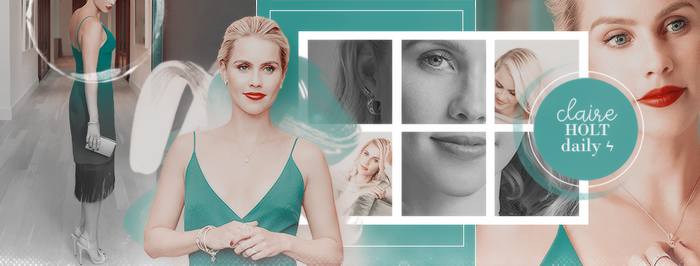 Claire Holt Daily [Timeline] by thequeen-ofdrama