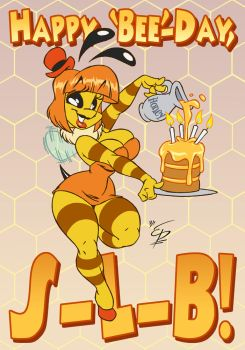 Happy 'Bee'-Day! by eltonpot