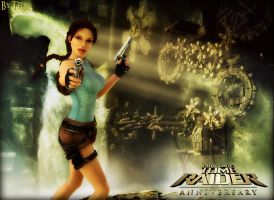 Tomb Raider Anniversary (Wallpaper) by TRXNALARA