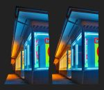 Neon Lights 3D by zour