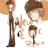 New OC: Robin Carter by Koby-chan