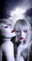 Charlotte and Eliza by vampirekingdom