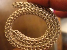 Fine Silver Viking Knit Braclet by Rocklandlight