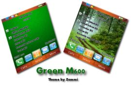 Green theme for SE M600 by zammi