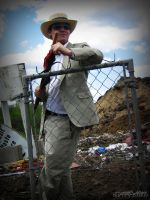 Suits in a Landfill - 003 by PxRxSxRx