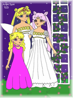 Serenity and Her Girls by AngelRaye