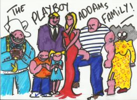 THE PLAYBOY ADDAMS FAMILY by bordeauxman
