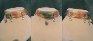 Guild Wars 2 Inspired Choker: The Bifrost (redux) by LunatheRibboner