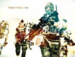 Task Force 141 by LordHayabusa357