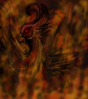 Infernal Phoenix by RoomsInTheWalls