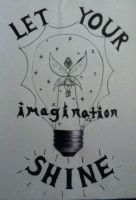 Let Your Imagination Shine by Miss-Misery13