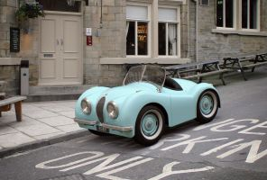 1950s Jaguar Roadster Jr. by Tafkah