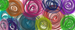 colorful roses by lilandy676