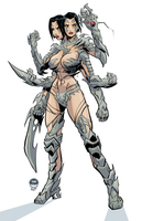 Sahlia Witchblade - JulyMicroSale by EryckWebbGraphics