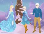 Elsa And Jack Frost Daughter Entry by adrianaTheGirlOnFire