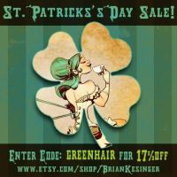 st patrick's sale by BrianKesinger