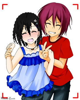 Rin And Lucca Of Children// Photo Time// by Hatake-Lucia