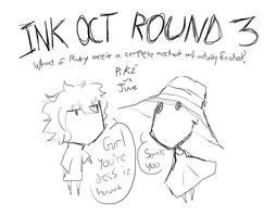 Ink OCT Round 3 Cover by RubyRedux