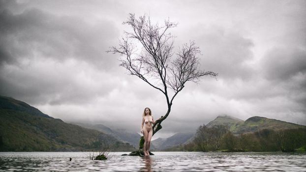 Joleen: The lady in the lake (colour) by JeremyHowitt