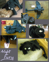 Night Fury Plush by Sareii