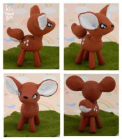 Little Fawn Figurine by kicat