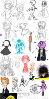 Sketchdump: The last of 2012 by Siro-Cyl