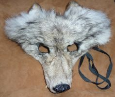 Red's Wolf Mask by lupagreenwolf