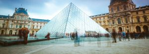Louvre's backyard by sican