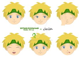 InTheLittleWood Ghibli Style by Excilia