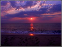 Monmouth Beach Sunrise by Ryser915