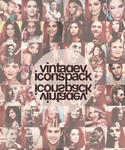 Vintagey Icons Pack by mindlessbadass