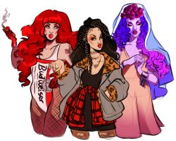 The Devil , The Star and The High Priestess by ArtisianRomeo