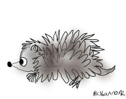 Hedgie by HCShannon