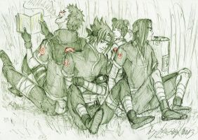 Team Obito by Sanzo-Sinclaire
