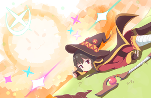 Megumin Good Job! by Phibonnachee