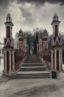 Stairs by Michael-Rayne