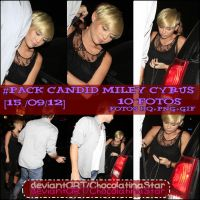 Miley Cyrus Candid by ChocolatinaStar