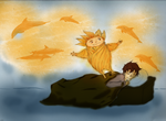 RoTG :: Jack and Sandy by SkyLangitCielCielo